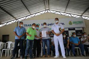 Governador Wilson Lima sanciona lei que regulamenta o transporte hidroviário de passageiros e cargas no Amazonas