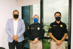 Agência Reguladora do Amazonas solicita apoio da Polícia Rodoviária para treinamento dos agentes de fiscalização
