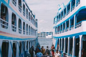 Em 2021, mais de 263 mil passageiros fizeram viagens intermunicipais utilizando embarcações no Amazonas