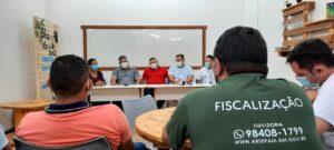 Governo do Amazonas, por meio daArsepam, anuncia em reunião que vai instalar posto de fiscalização em Manacapuru
