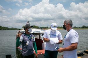 Arsepam realiza visita técnica ao Porto de Manaquiri para conhecer a realidade do transporte hidroviário no município
